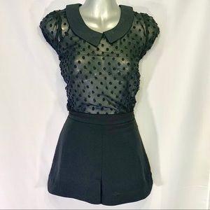 Lush Women's Shorts, Black Size:Small